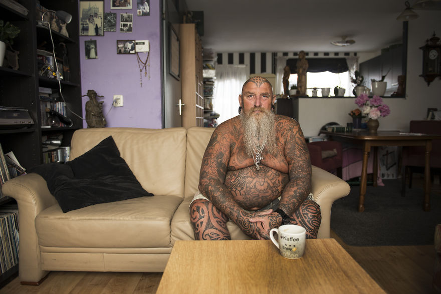 These Badass Tattooed Seniors We Captured Prove That You Shouldn't Worry About Your Tattoos When You're Old