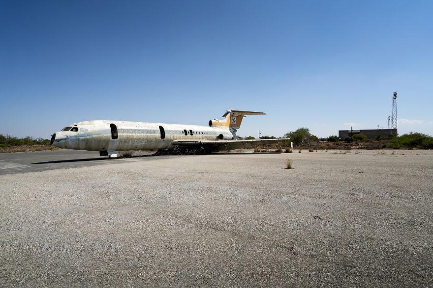 Stranded Plane
