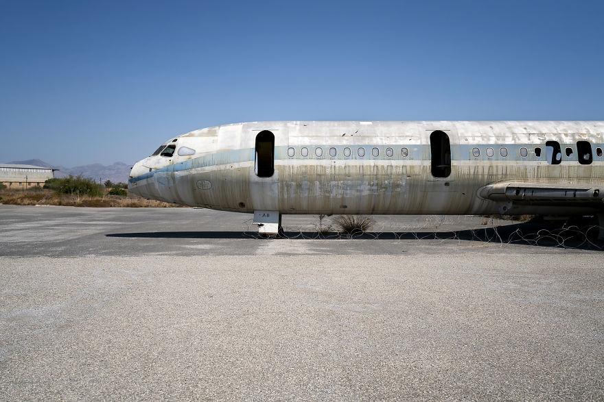 Stranded Plane Cyprus Airways