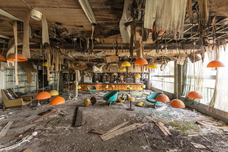Abandoned Vintage Hotel