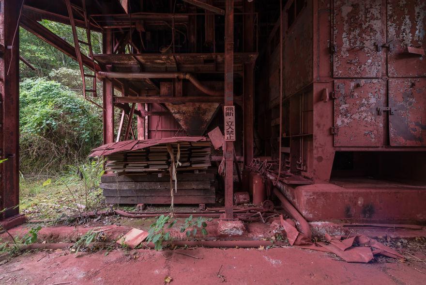 Derelict Ocher Factory