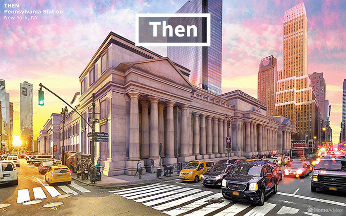 Then Amp Now Pictures Of 7 Buildings That America Has Lost