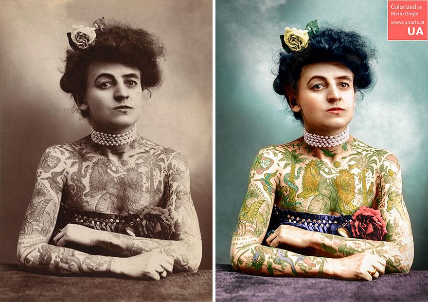 Maud Wagner CA 1905