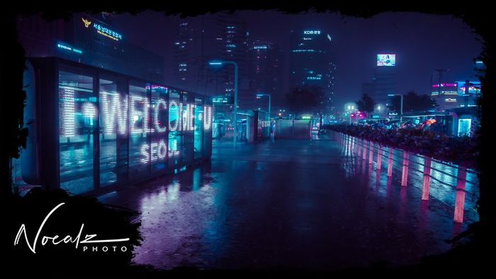 I Spent Half A Year On This Rainy Neon Seoul Timelapse