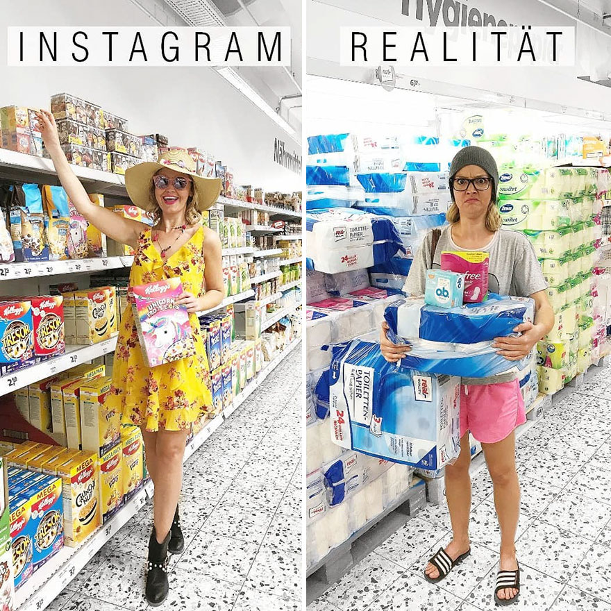 Instagram Vs. Reality
