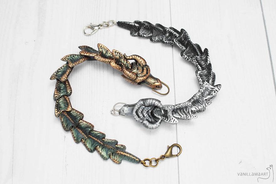 Fantasy Dragon Bracelet