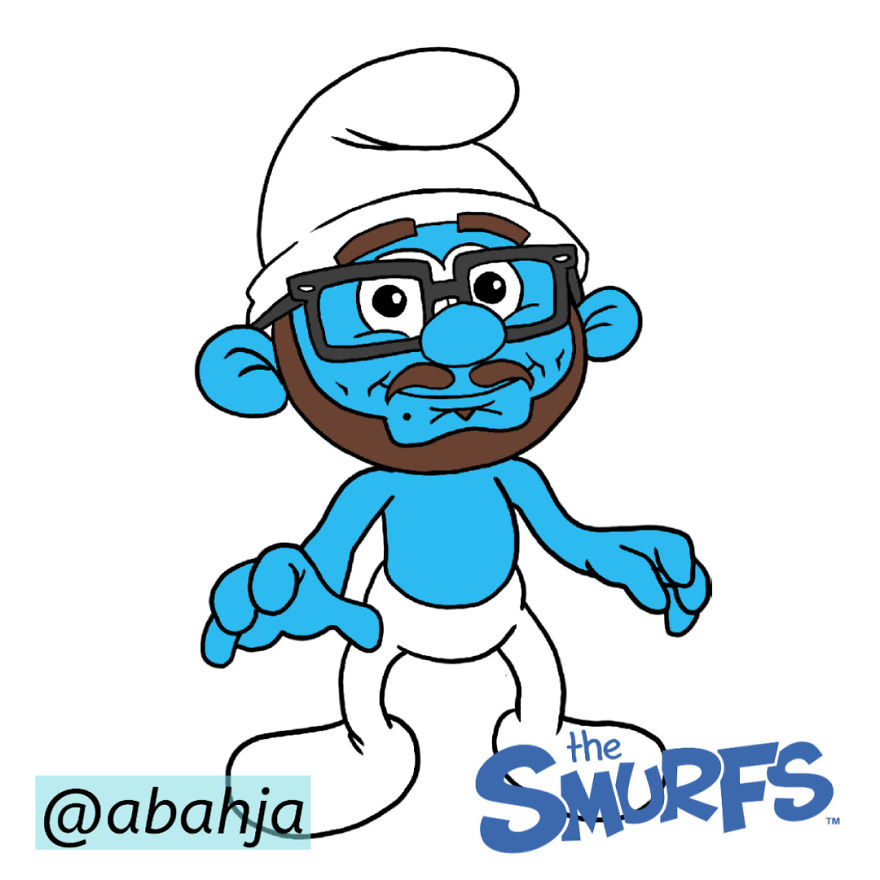 The Smurfs Style