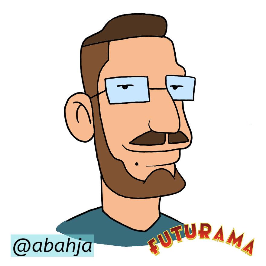 Futurama Style