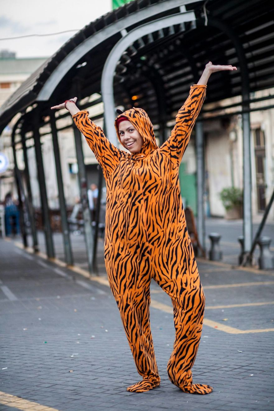 I've Photographed Hundreds Of People Wearing A Tiger Suit