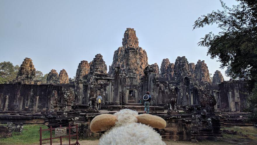 In Awe At Angkor Wat