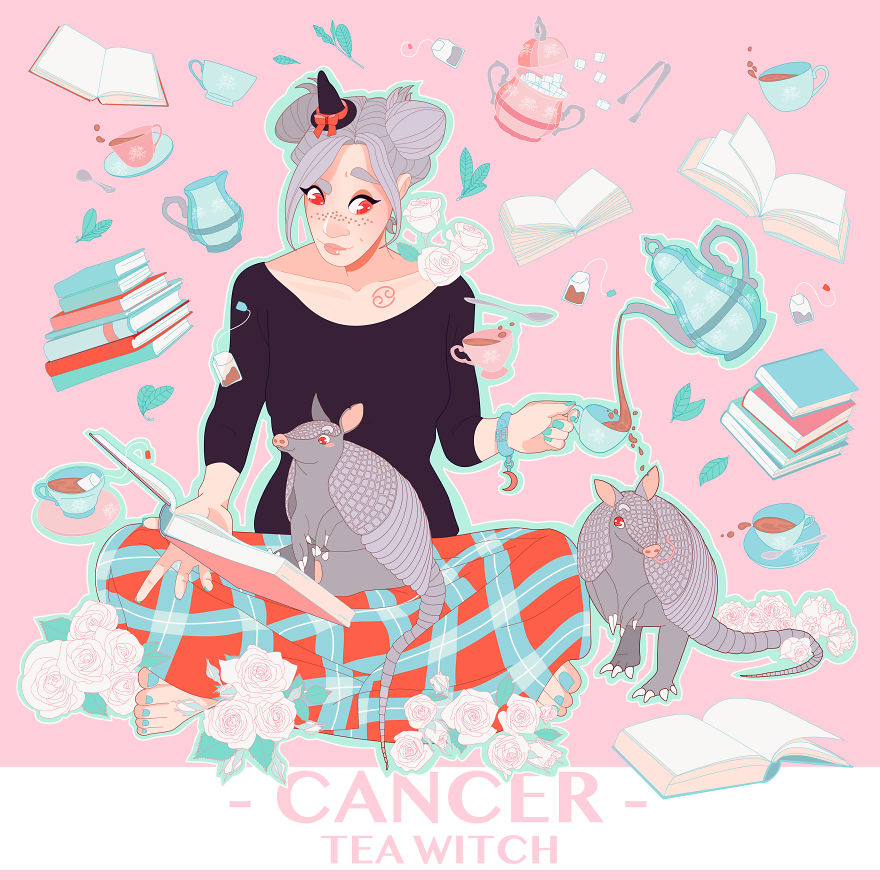 Cancer The Tea Witch