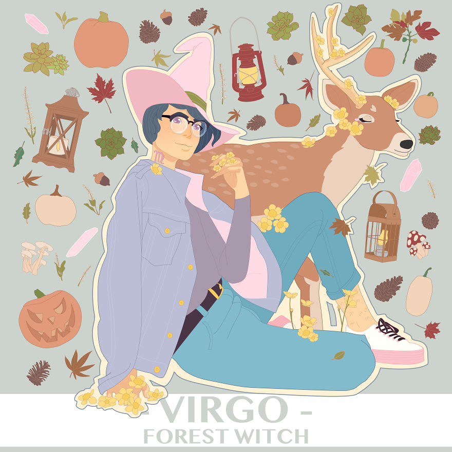 Virgo The Forest Witch