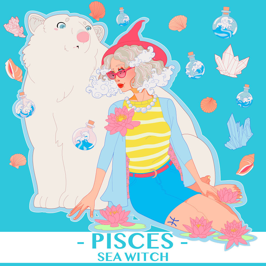 Pisces The Sea Witch