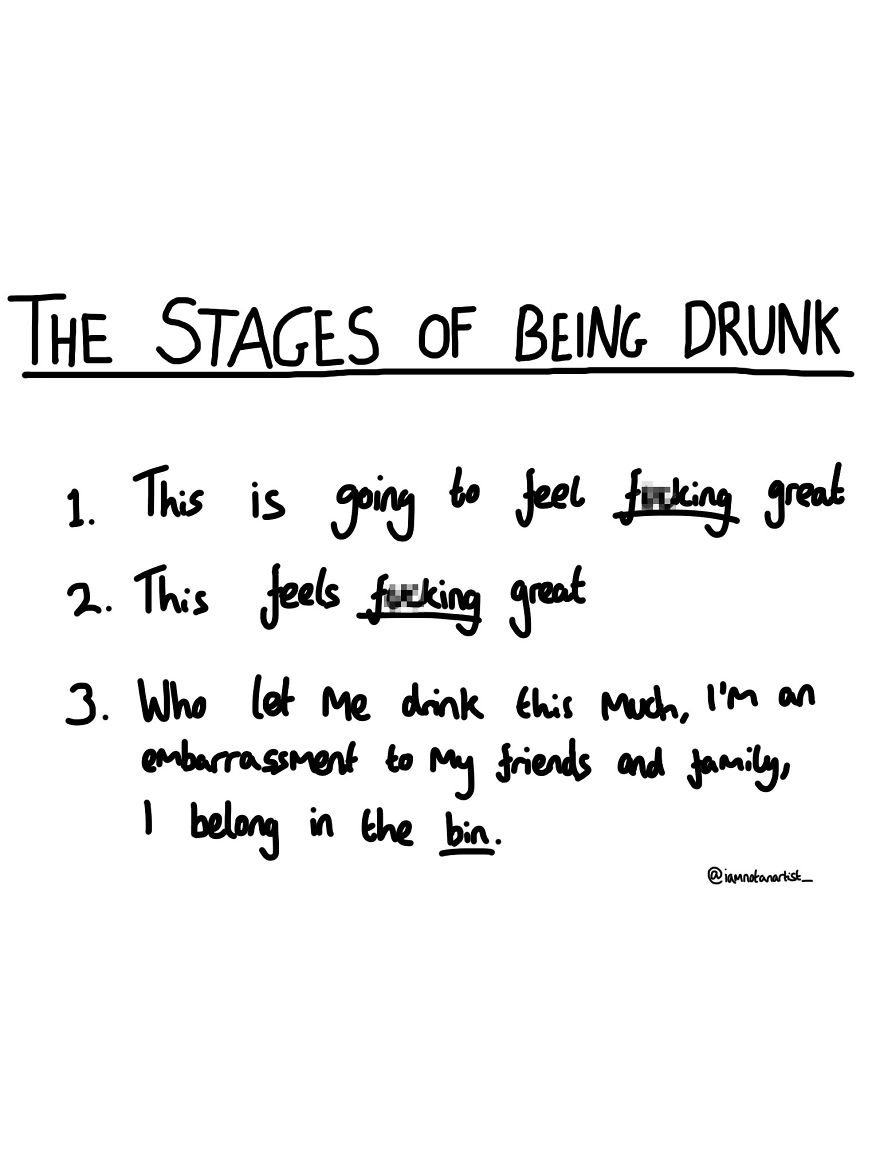 27 Cartoons That Are Too Relevant For Anyone Who Likes Alcohol, Sex And Being An Idiot.