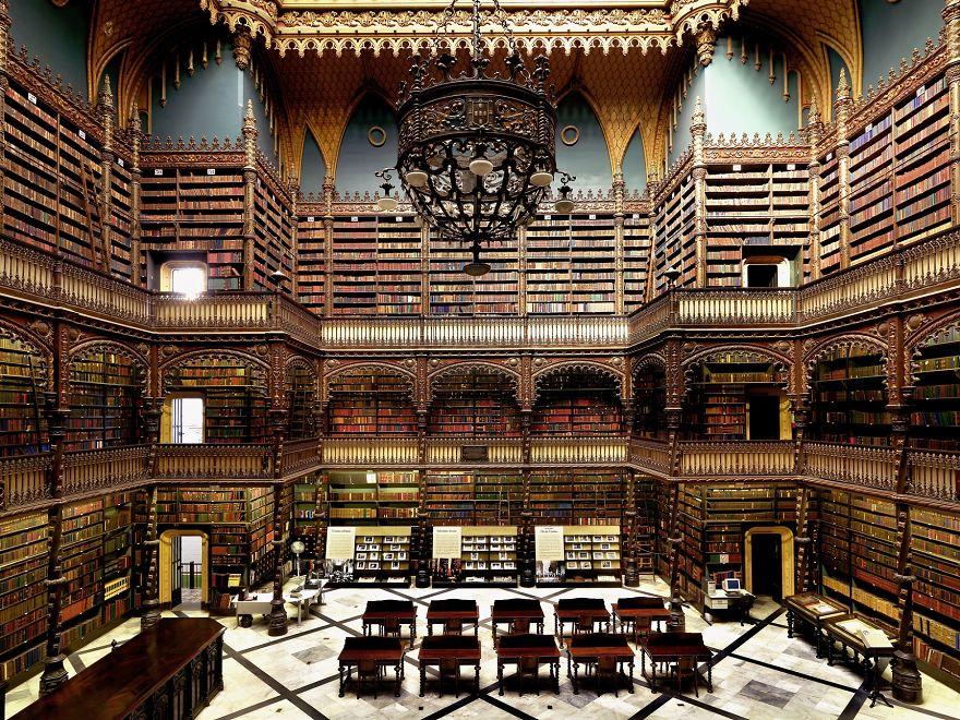 Royal Portuguese Cabinet Of Reading, Rio De Janeiro, Brazil