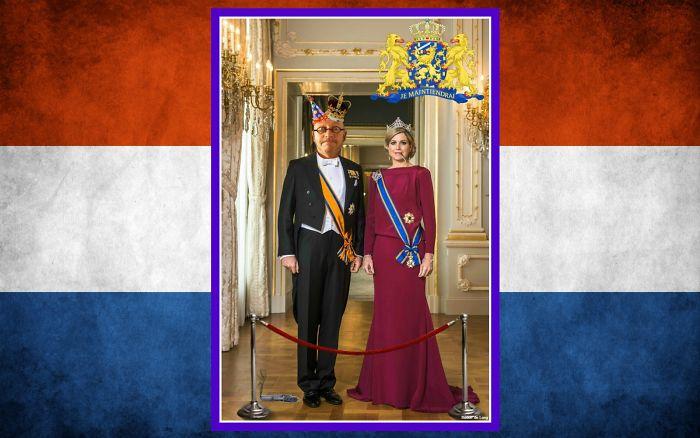 Me With The Queen Of The Netherlands (Máxima Zorreguieta)