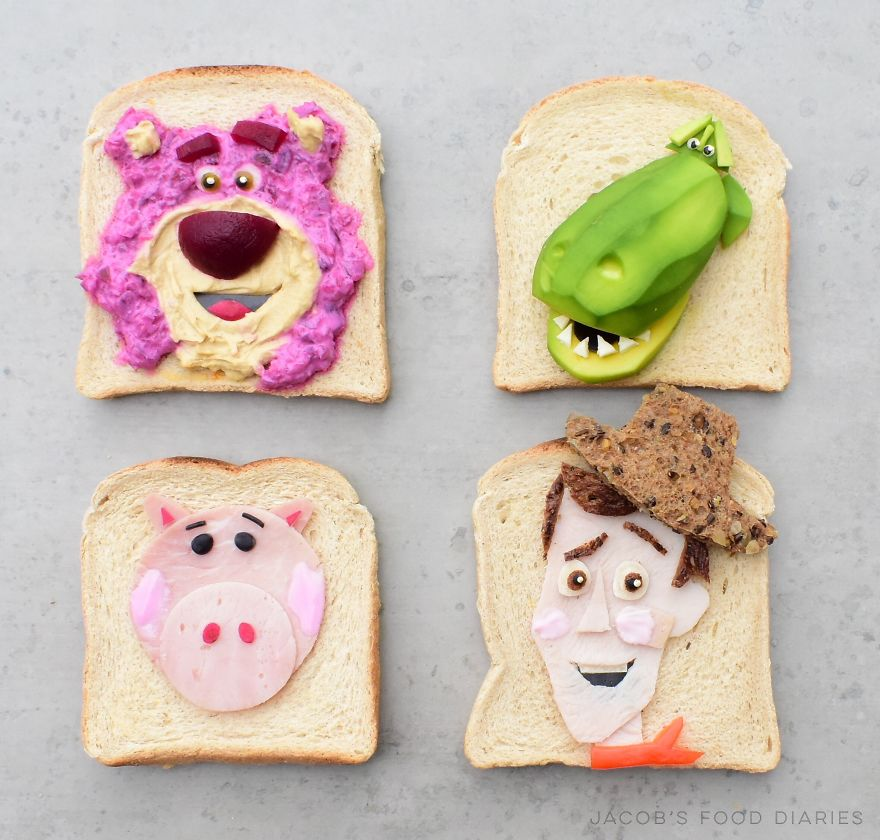 Toy Story Toast