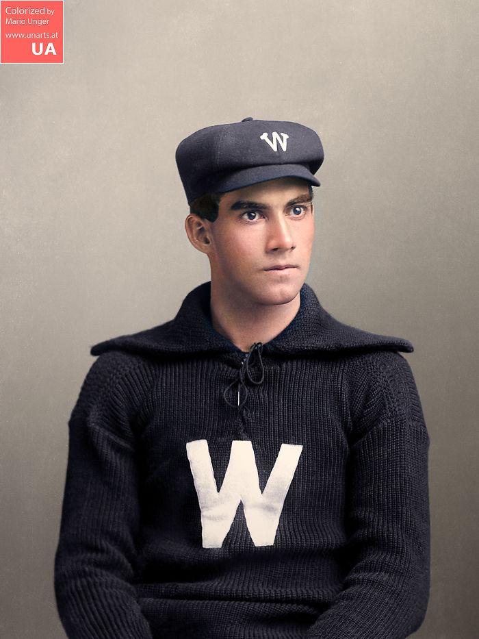 Mercer Washington, Baseball Player, 1896