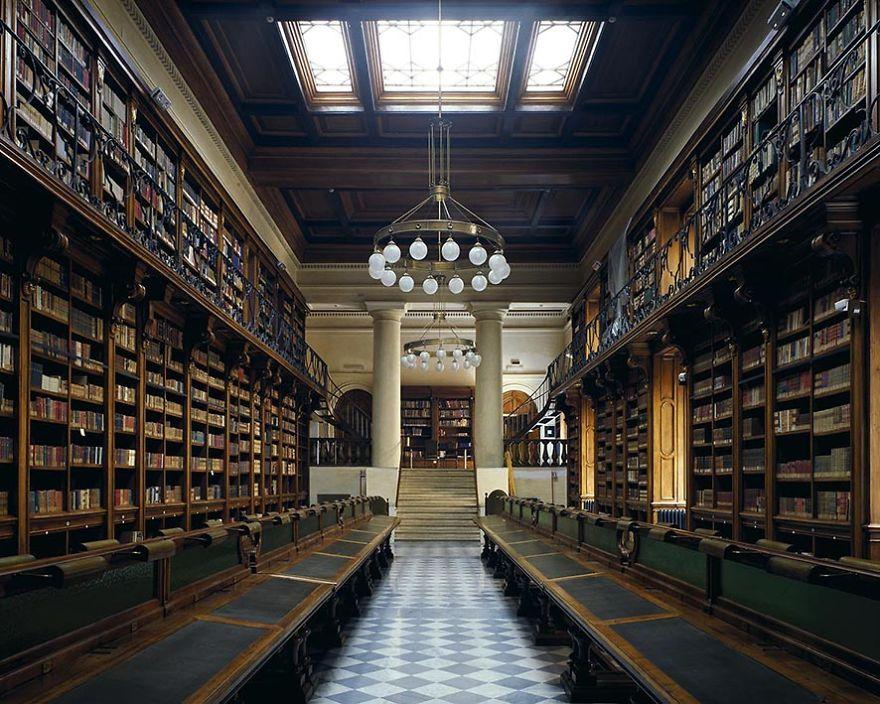 The Crociera Library, Rome, Italy