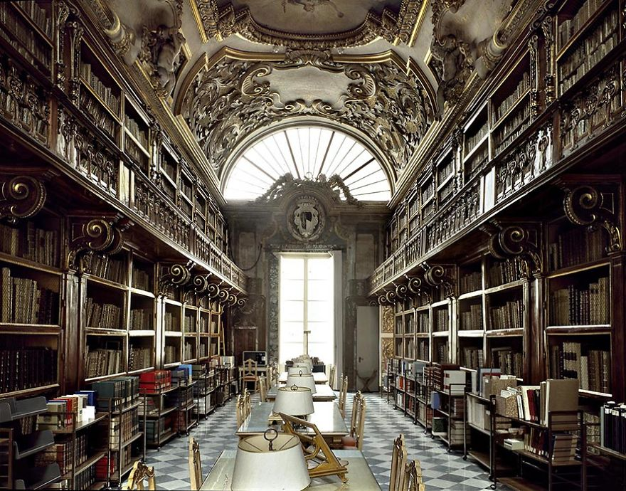 Riccardian Library, Firenze, Italy