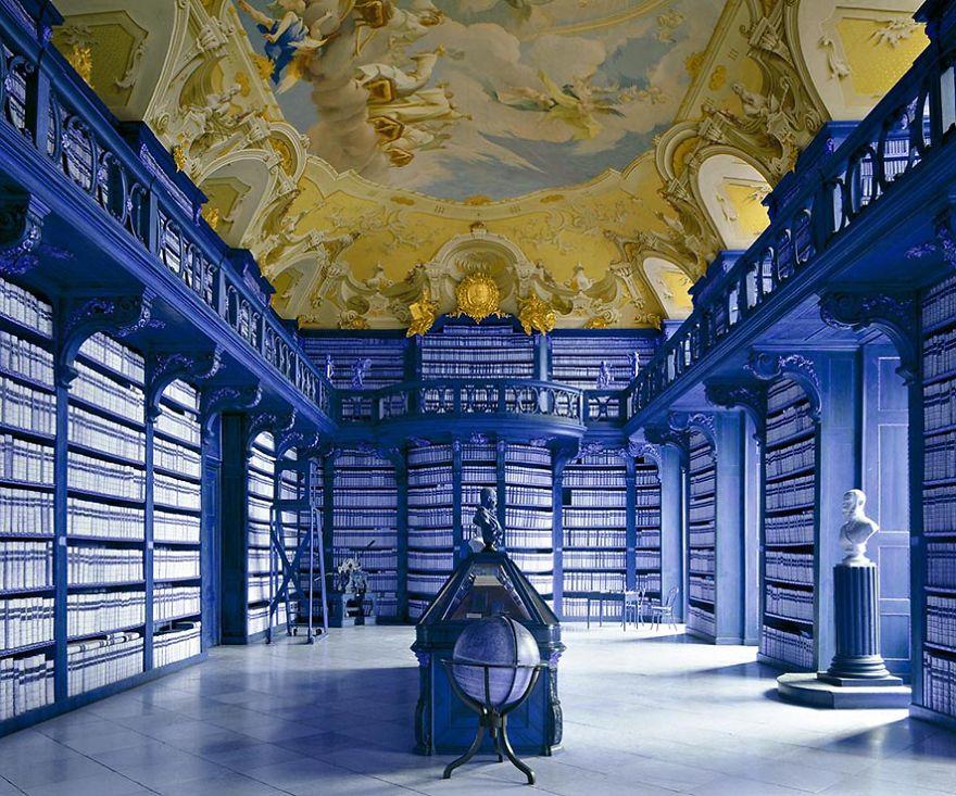 Seitenstetten Abbey Library, Seitenstetten, Austria