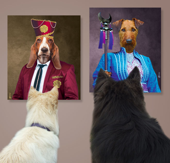 Pittsburgh Based Artist Creates Collection Of Fine Art For Refined Dogs