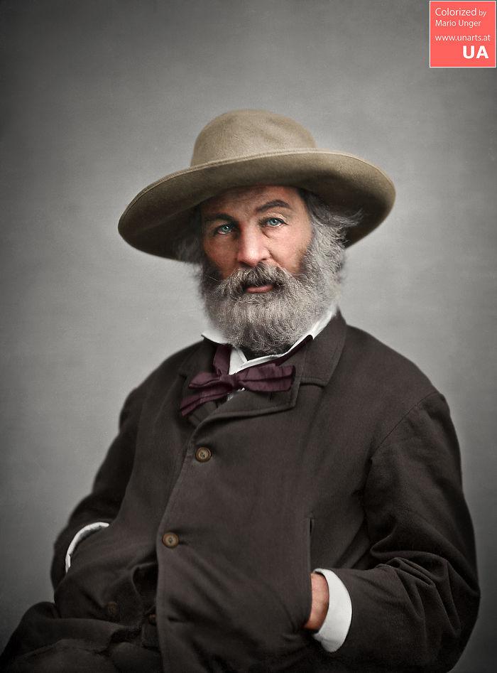 Walt Whitman CA 1860