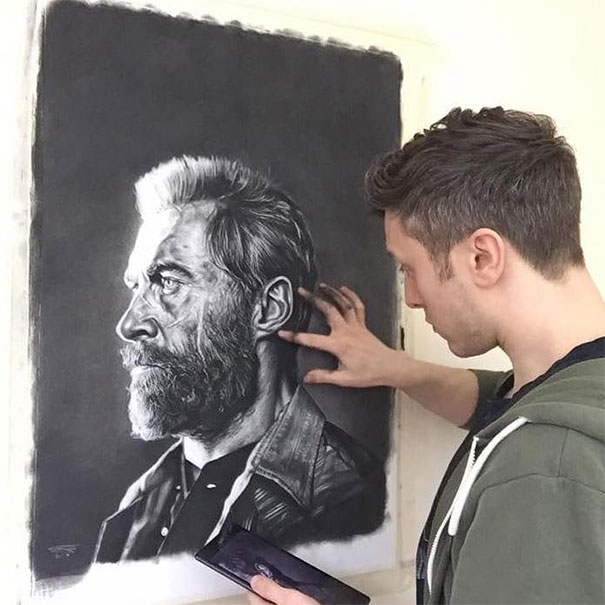 People Kept Asking This Artist To Draw Them For Free So He Decided