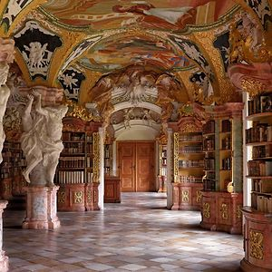Metten Abbey Library, Metten, Germany