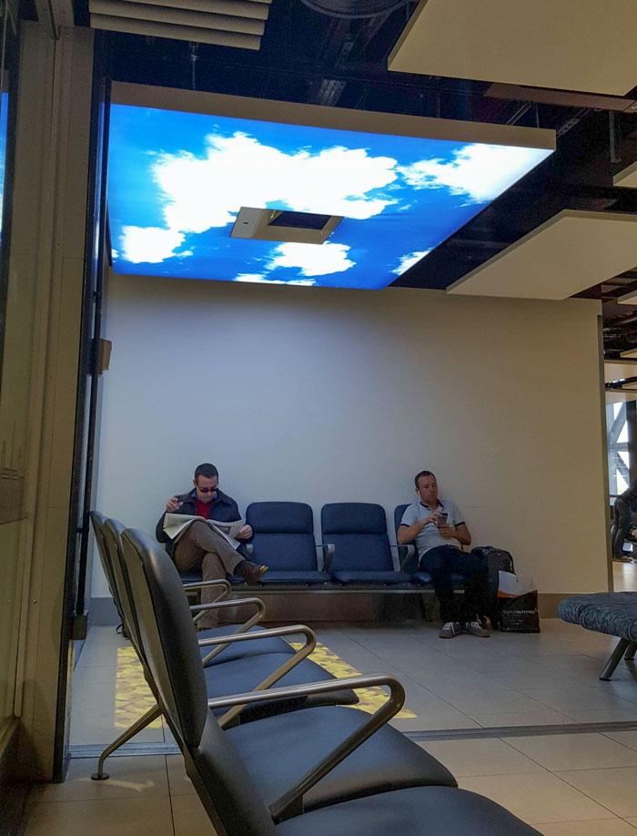 A Breath Of Fresh Air At The Airport