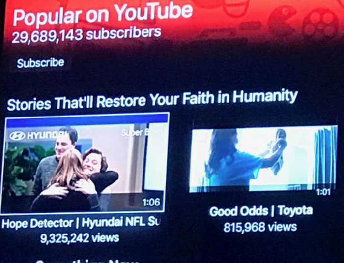 Stories That Will Restore Your Faith In Humanity. The First Two Are Ads