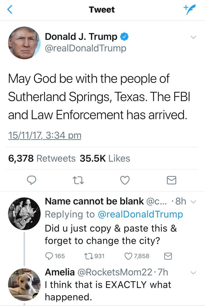 Mass Shootings Are Now So Frequent That President Trump Just Copies-And-Pastes His Condolences