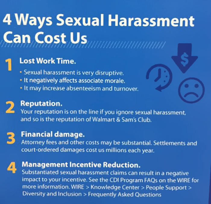 4 Ways Sexual Harassment Can Cost Us