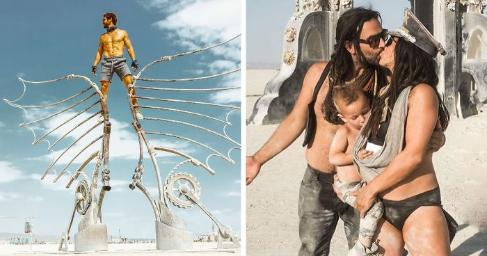 110 Epic Photos From Burning Man 2018 That Prove It's The Craziest Festival In The World