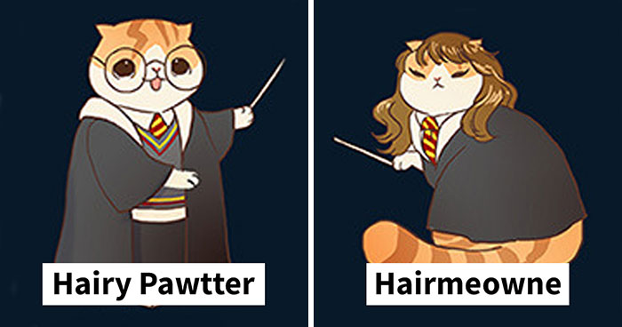 Illustrator Reimagines Famous Characters As Adorable Kittens And It's Purrfect