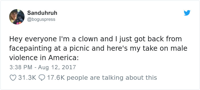 Clown Shames A Mother Who Wouldn't Let Her Son Get A Butterfly Painted On His Face But Instead Asked For Skull And Crossbones