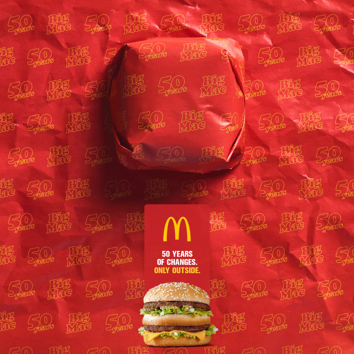 Packed In History: The 50 Years Of The Big Mac Narrated With Its Packaging