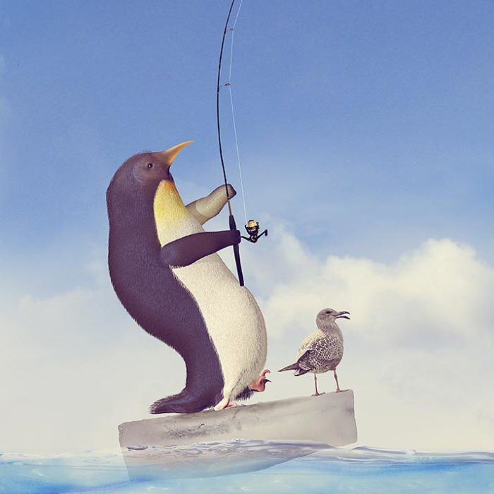 Crazy Real-Life Situations In An Imaginary World Of Animals