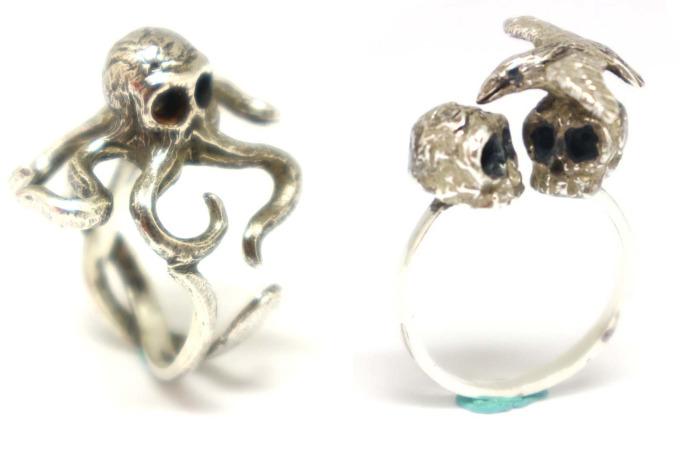 I Design And Make Tattoo Inspired Art Jewelry