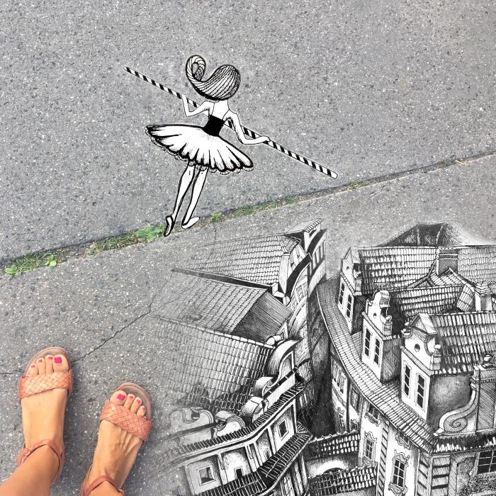 Prague Walking With Fantasy