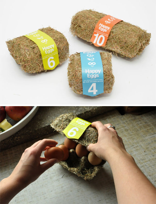 Eco-Friendly Eggs Packaging