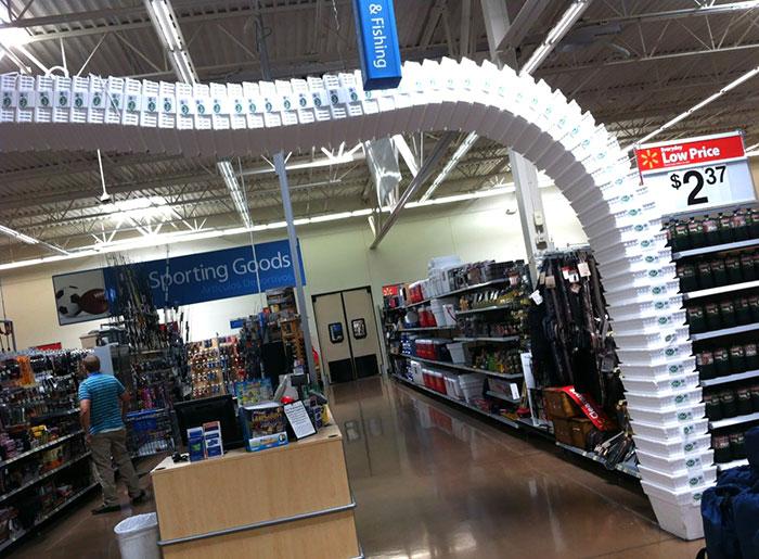 Physics At Work At Walmart
