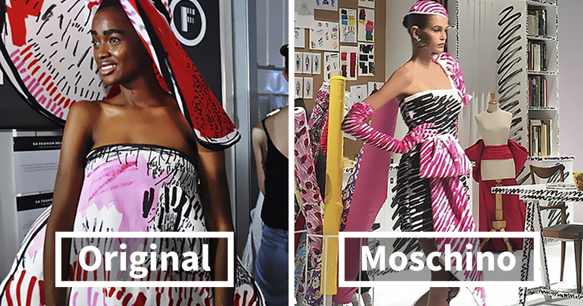 Young Designer Accuses Moschino Of Copying Her Entire Collection And The Photos Speak For Themselves Bored Panda