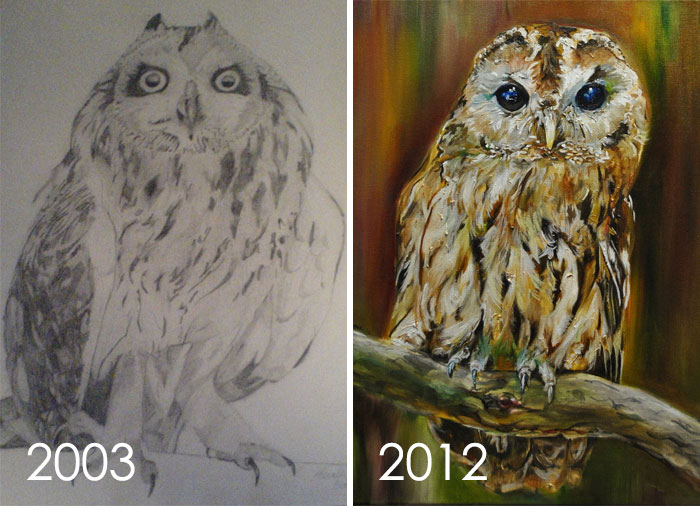 Draw This Owl Again