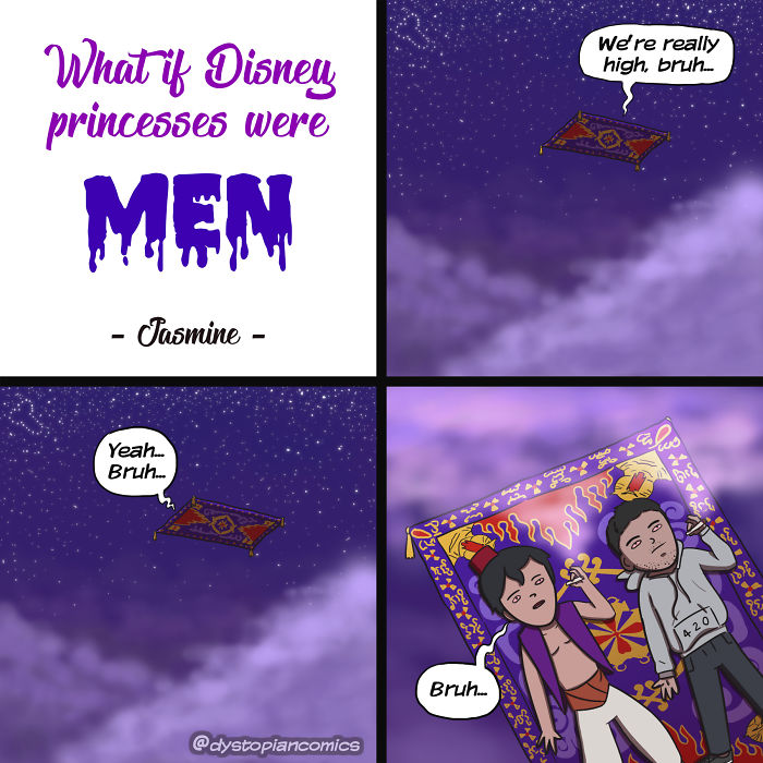 13 Dark/Dumb Ideas Made Into Comics By @dystopiancomics