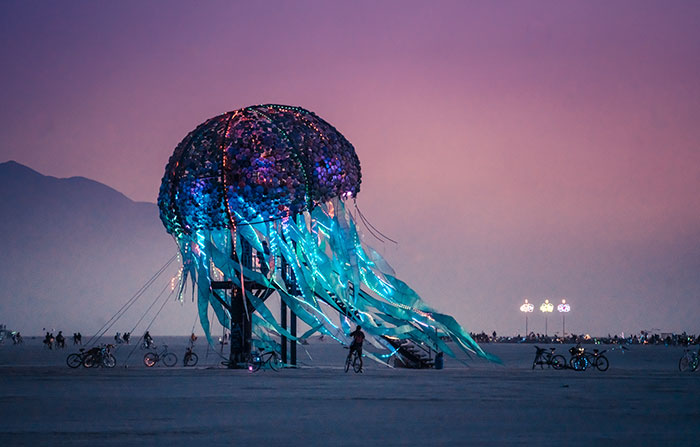 My Photographs Captured The Magic Of Burning Man 2018