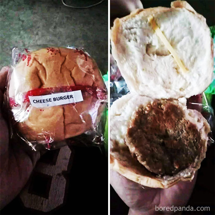 """""""Cheese"""" Burger"""