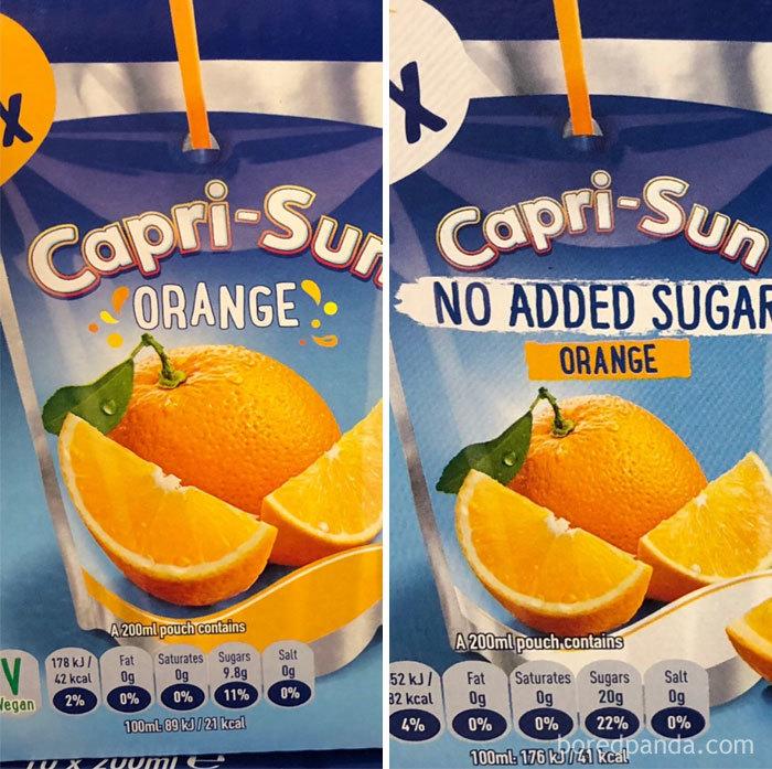 "When ""No Added Sugar"" = More Sugar Than Regular"