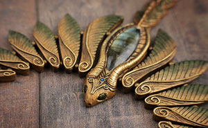 My Handmade Fantasy Inspired Jewelry Will Satisfy Any Dragon-Loving Heart