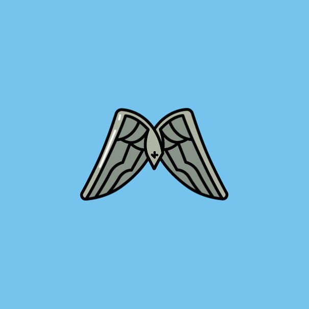 Fortnite Love Wings Backpack